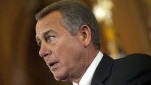 Speaker of the House, John Boehner, all for bipartisanship - just not for something as important as a movie.