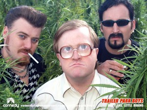 The Trailer Park Boys, in all their glory